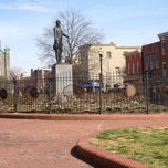 Photo taken at O'Donnell Square Park by Aimee d. on 4/7/2013
