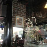 Photo taken at Lucky Luciano by Eduardo R. on 2/28/2013
