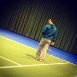 Photo taken at Racketcentrum Kapelle by Rachelle d. on 2/14/2013