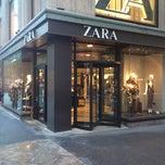 Photo taken at Zara by Anthony G. on 11/19/2012
