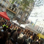 Photo taken at Marché de la place van Meenen / Markt van Meenenplein by Mateusz K. on 6/10/2013