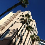 Photo taken at Hotel De Anza by Kristin B. on 12/31/2012