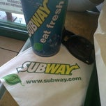 Photo taken at Subway by Angel A. on 6/5/2013