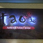 Photo taken at Tao Authentic Asian Cuisine 道 by Joanne T. on 3/24/2013