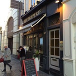 Photo taken at La creperie de la vieille bourse by Petri H. on 2/16/2014