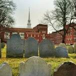 Photo taken at Copp's Hill Burying Ground by Cory S. on 2/5/2013
