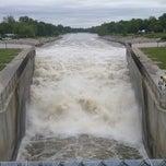 Photo taken at Saylorville Dam by Benjamin M. on 6/1/2013