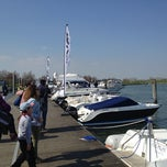 Photo taken at XII Salone Nautico Di Venezia by Gianni F. on 4/14/2013