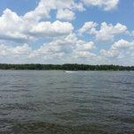 Photo taken at Lake Conroe by Bradley L. on 7/6/2013
