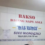 Photo taken at Bakso Mas Kumis by didirusl2474 on 9/9/2013