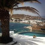 Photo taken at Santa Marina Resort & Villas, Mykonos by Rana A. on 5/20/2013