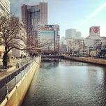 Photo taken at 一の橋 交差点 by 武蔵小杉最強伝説 on 3/17/2013