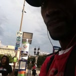 Photo taken at Charm City Circulator Purple Route - Penn Station (Southbound) - #311 by Timothy S. on 6/30/2013