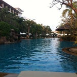 Photo taken at Ravindra Beach Resort & Spa by Bunchert T. on 10/20/2012