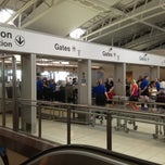 Photo taken at TSA Terminal E Security by Kevin G. on 5/18/2012