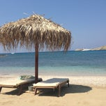 Photo taken at Porto Koundouros Beach by Stevi C. on 7/7/2013