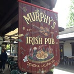 Photo taken at Murphy's Irish Pub by Margie M. on 4/15/2013