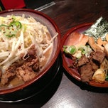 Photo taken at 光麺 六本木店 by Tomoyuki I. on 1/25/2013