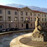 Photo taken at Piazza della Foca by Manuel W. on 3/3/2013