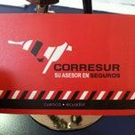Photo taken at Corresur Cia. Ltda. by David L. on 11/22/2012