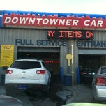 Photo taken at Downtowner Car Wash by Cindy C. on 3/16/2013