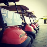 Photo taken at Yas Links Abu Dhabi Golf Club by Mohammad Z. on 12/11/2012