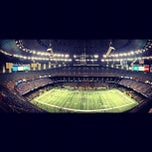 Photo taken at Mercedes-Benz Superdome by Orin S. on 12/8/2012