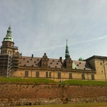 Photo taken at Kronborg Slot by Elvira K. on 7/26/2013