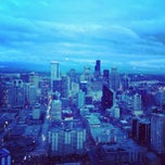 Photo taken at Space Needle by Tuhin K. on 4/5/2013