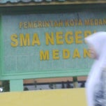 Photo taken at SMA Negeri 2 Medan by Dewa A. on 5/23/2014