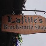 Photo taken at Lafitte's Blacksmith Shop by Spot N. on 2/8/2013