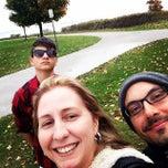 Photo taken at Beachfront Park by Luiza C. on 10/26/2014