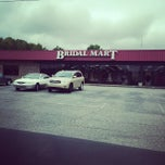 Photo taken at Bridal Mart by Emer L. on 9/25/2014