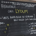 Photo taken at LYOUM • Petits vêtements • Cuisine délicate by Mylène B. on 2/2/2013