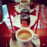 Photo taken at Baillardran Café by Hugo C. on 9/30/2013