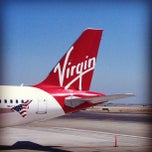 Photo taken at Virgin America by B s. on 9/24/2012