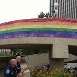Photo taken at Kanawha Plaza by Jamie B. on 9/29/2012