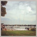 Photo taken at Spring Lake Yacht Club by Lisa Rose S. on 10/12/2013