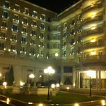 Photo taken at Grand Hotel Palace by Doğukan K. on 10/25/2012