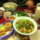 Photo taken at Pho Bo Ga King by Justin T. on 4/1/2011