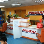 Photo taken at POSLAJU National Courier by Welfred Suto on 8/18/2011