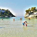 Photo taken at Cala Galdana by Srta. S. on 8/22/2012