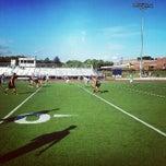 Photo taken at Franklin High School Turf Field by Ed B. on 8/7/2012