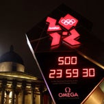 Photo taken at London 2012 OMEGA Countdown Clock by !MIlton S. 7.1 on 8/25/2013