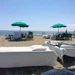 Photo taken at Bagno Piero by Fabrizio M. on 6/2/2014
