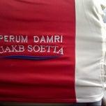 Photo taken at Terminal DAMRI Bandara Soekarno-Hatta by bambang yusuf w. on 2/5/2013