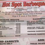 Photo taken at Hot Spot Bar-B-Que by Juliette G. on 8/6/2013