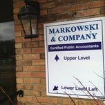 Photo taken at Markowski & Company by lyza k. on 3/22/2013