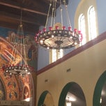 Photo taken at St Nicholas Greek Orthodox Church by Effie B. on 5/18/2014