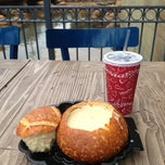 Photo taken at Pacific Wharf Café by Lynn B. on 3/5/2013